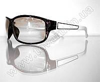 Оптом Очки мужские солнцезащитные спортивные - Черно-белые - 2091, фото 1