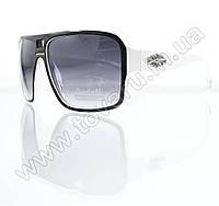 Оптом Очки унисекс солнцезащитные - Черно-белые - 295, фото 1