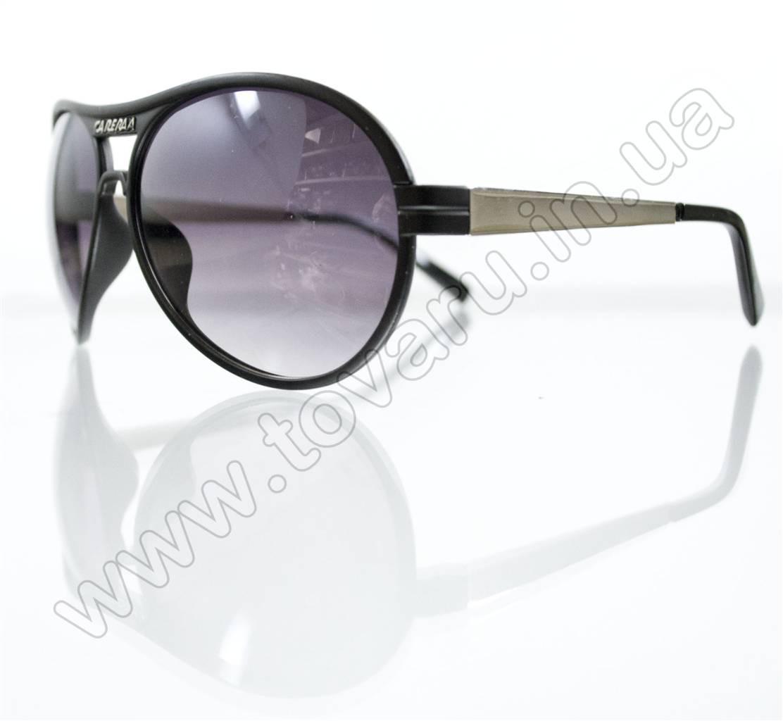Оптом Очки унисекс солнцезащитные  Carera - Черные - 943
