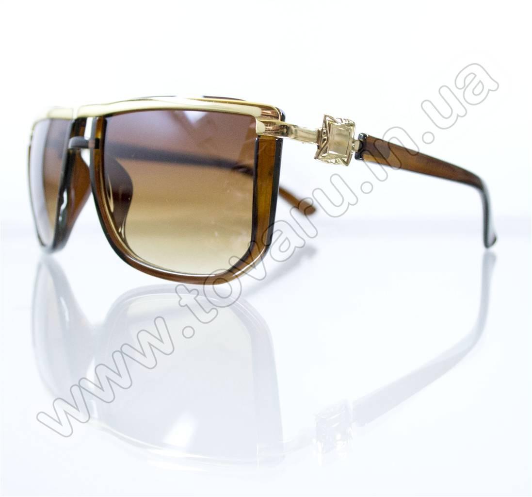 Оптом Очки унисекс солнцезащитные - Коричневые - 1113
