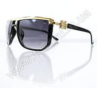 Оптом Очки унисекс солнцезащитные - Черные - 1113, фото 1