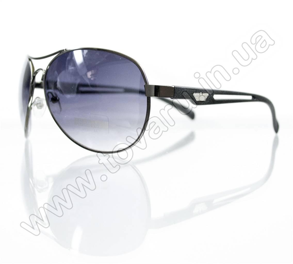Оптом Очки унисекс солнцезащитные - Armani - Черные - 1606