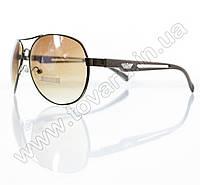 Оптом Очки унисекс солнцезащитные - Armani - Коричневые - 1606, фото 1