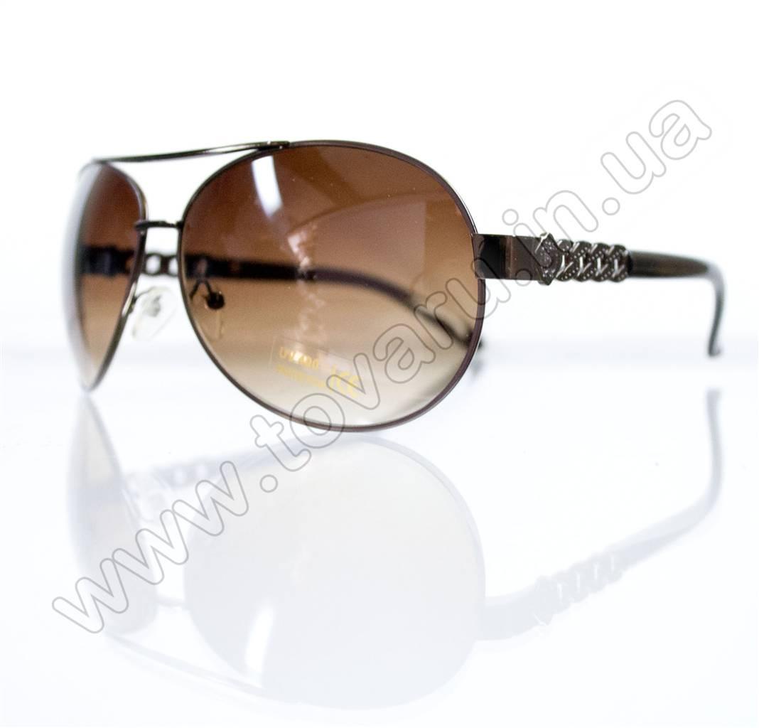 Оптом Очки унисекс солнцезащитные - Коричневые - 3087, фото 1