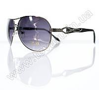 Оптом Очки унисекс солнцезащитные - Черные - 3039, фото 1
