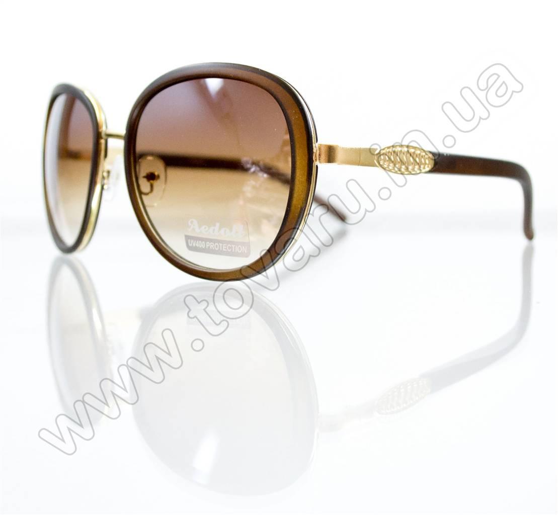 Оптом Очки женские солнцезащитные - Коричневые - 5622