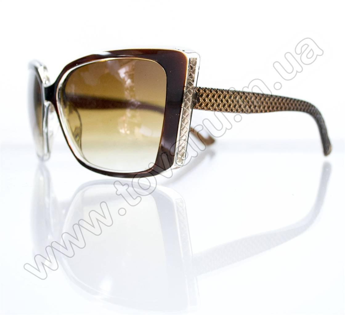 Оптом Очки женские солнцезащитные - Коричневые - 5948