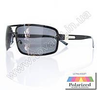 Оптом Очки мужские солнцезащитные поляризационные - Черные - 1288, фото 1