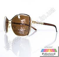 Оптом Очки женские солнцезащитные поляризационные - Коричневые - 8215, фото 1