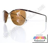 Оптом Очки женские солнцезащитные поляризационные - Коричневые (коричневая линза) - 015194, фото 1