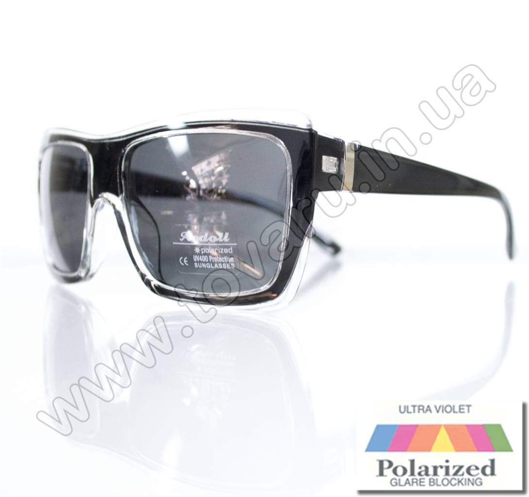 Оптом Очки женские солнцезащитные поляризационные - Черные - P301