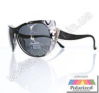 Оптом Очки женские солнцезащитные поляризационные - Черные - P515, фото 1