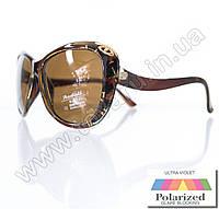 Оптом Очки женские солнцезащитные поляризационные - Коричневые - P521, фото 1