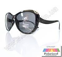 Оптом Очки женские солнцезащитные поляризационные - Черные - P521, фото 1