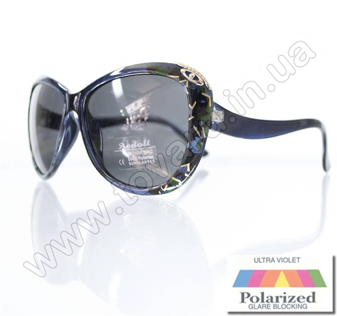 Оптом Очки женские солнцезащитные поляризационные - Синие - P521