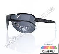 Оптом Очки мужские солнцезащитные поляризационные - Черные - P05001, фото 1
