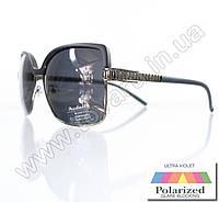 Оптом Очки женские солнцезащитные поляризационные - Черные - P5620, фото 1