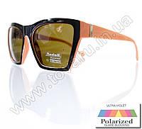 Оптом Очки женские солнцезащитные поляризационные - Черно-оранжевые - P6613, фото 1