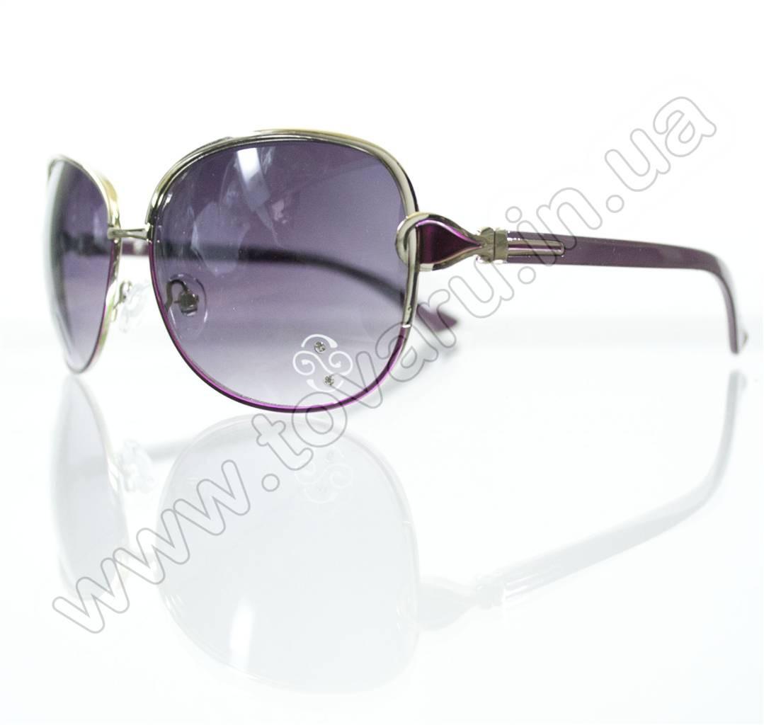 Оптом Очки женские солнцезащитные - Сиреневые - S3321