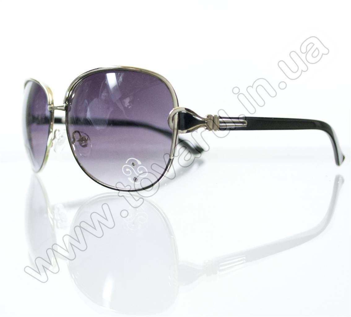 Оптом Очки женские солнцезащитные - Черные - S3321
