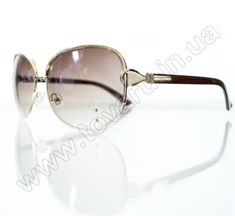 Оптом Очки женские солнцезащитные - Бежевые - S3321