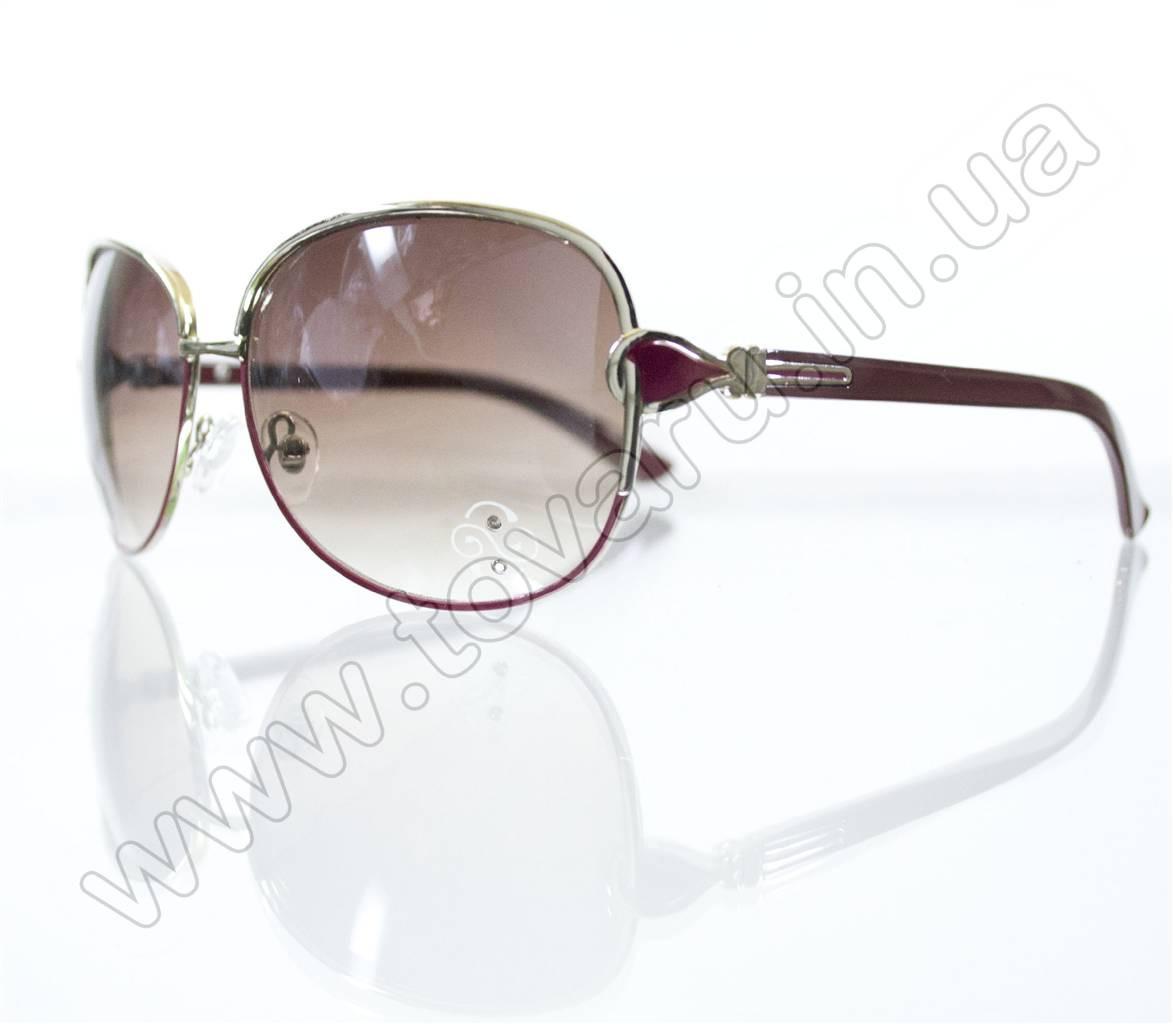 Оптом Очки женские солнцезащитные - Розовые - S3321