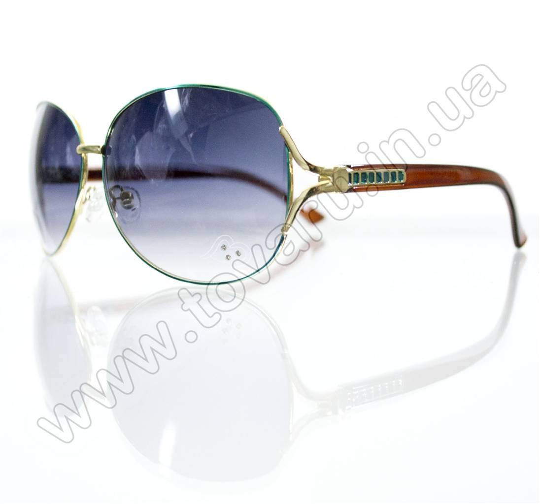 Оптом Очки женские солнцезащитные - Бирюзовые - S3314