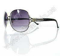 Оптом Очки женские солнцезащитные - Черные - S3314, фото 1
