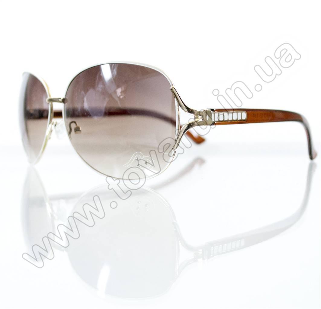 Оптом Очки женские солнцезащитные - Белые - S3314