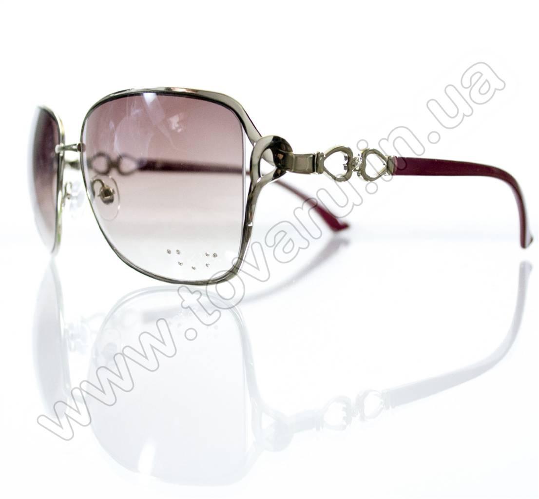 Оптом Очки женские солнцезащитные - Розовые - S3313