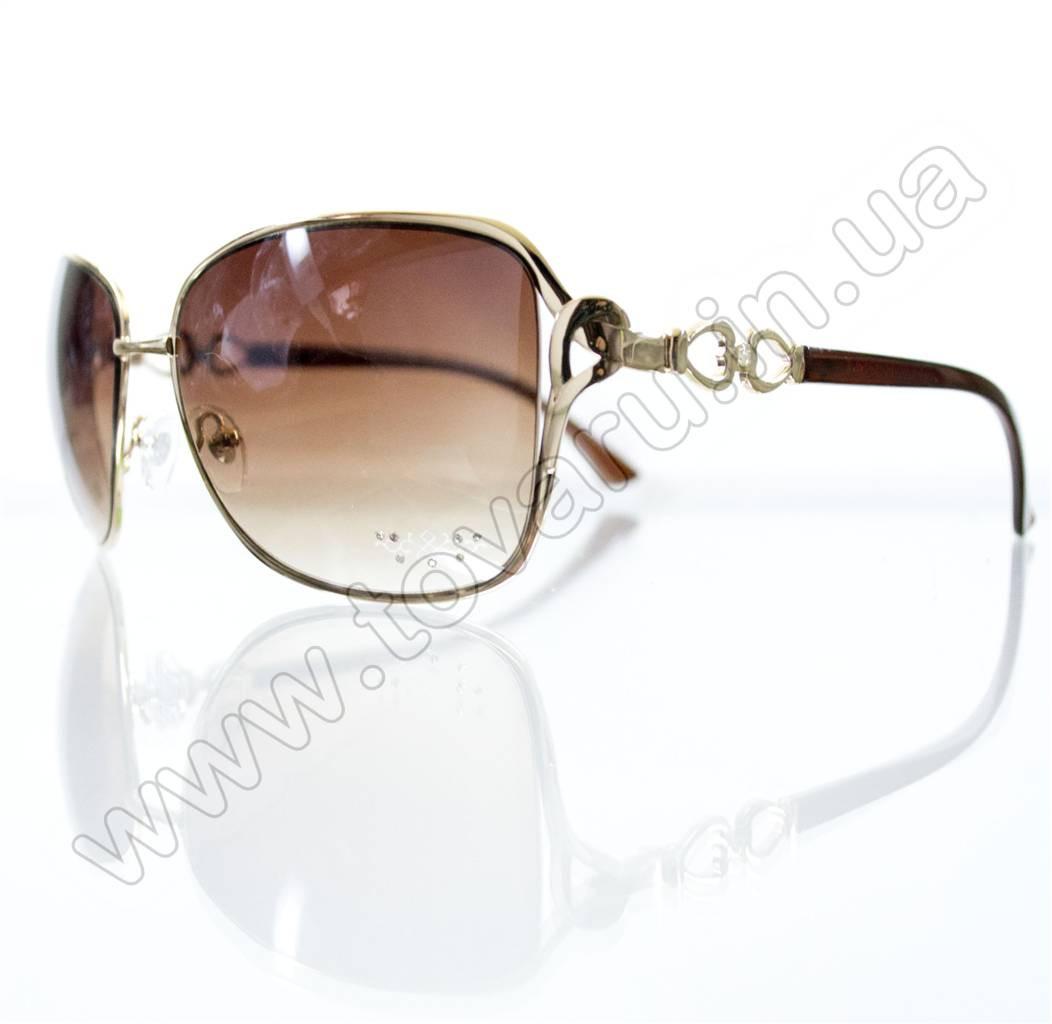 Оптом Очки женские солнцезащитные - Коричневые - S3313