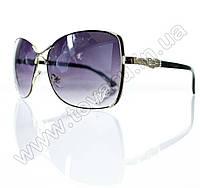 Оптом Очки женские солнцезащитные - Черные - S3305
