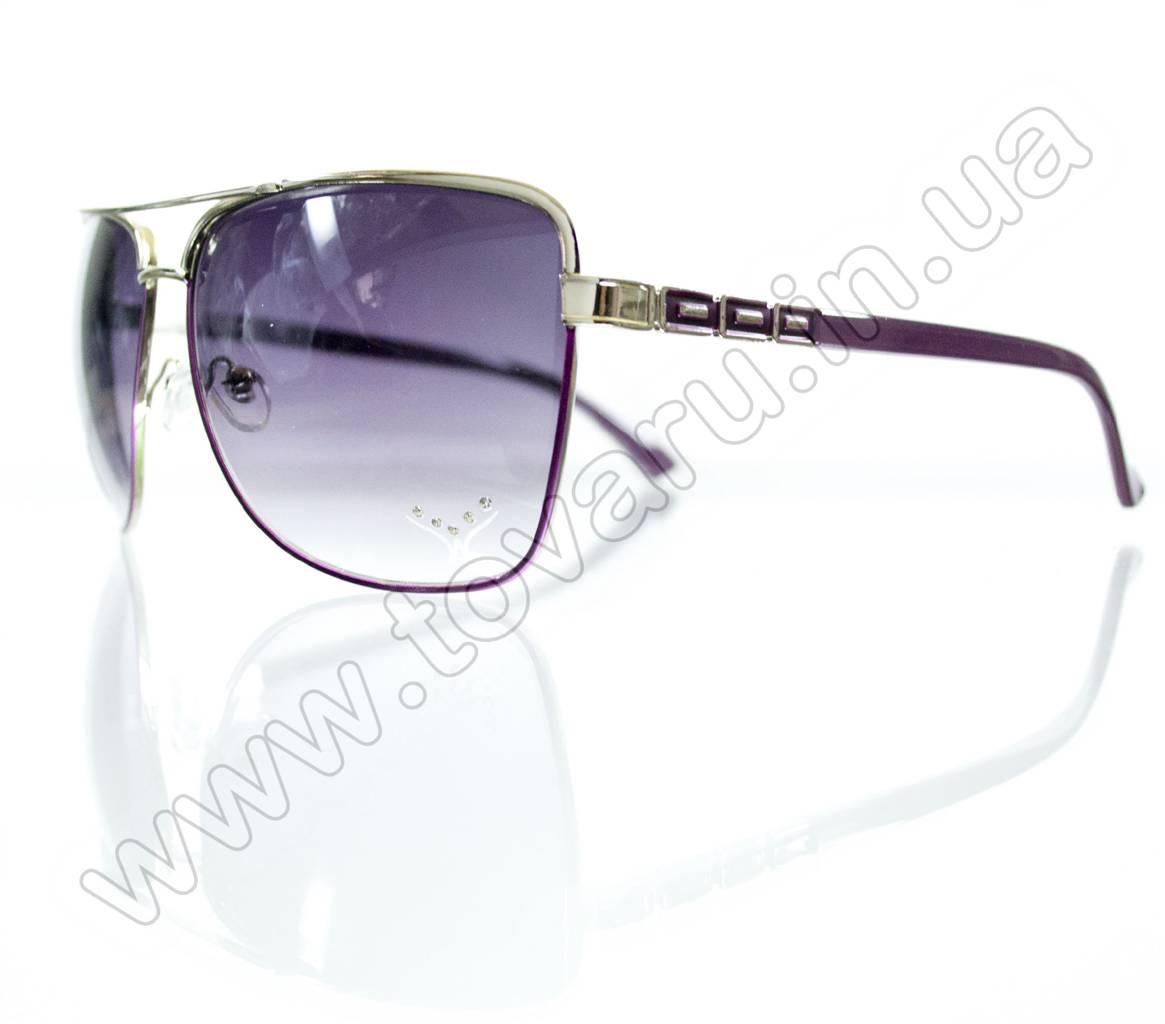 Оптом Очки женские солнцезащитные - Сиреневые - S3320