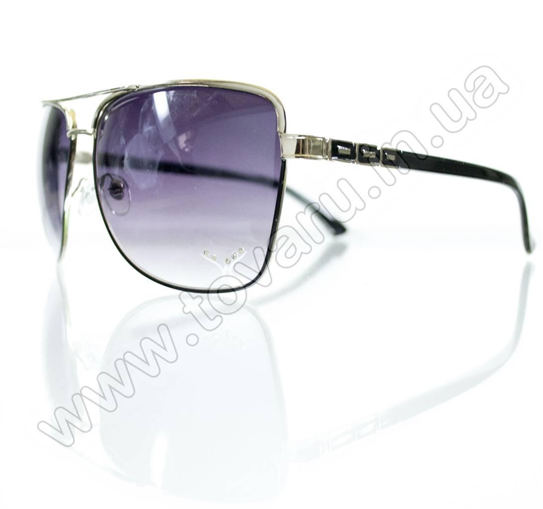 Оптом Очки женские солнцезащитные - Черные - S3320