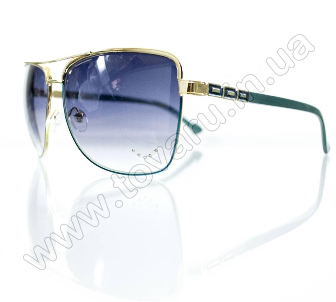 Оптом Очки женские солнцезащитные - Бирюзовые - S3320