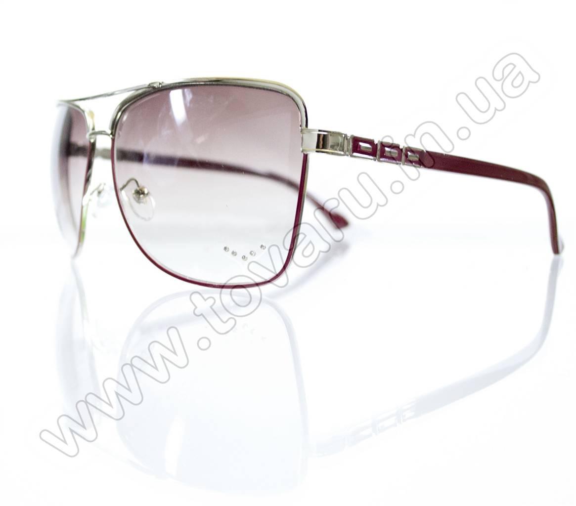 Оптом Очки женские солнцезащитные - Розовые - S3320