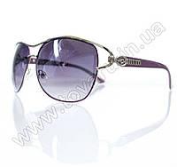 Оптом Очки женские солнцезащитные - Сиреневые - S3302, фото 1