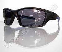 Оптом Очки мужские солнцезащитные спортивные - Черно-синие - 9892, фото 1