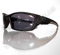 Оптом Очки мужские солнцезащитные спортивные - Черно-серые - 9892, фото 1