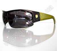 Оптом Очки мужские солнцезащитные спортивные - Черно-зеленые - SP306, фото 1
