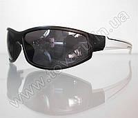 Оптом Очки мужские солнцезащитные спортивные - Черно-белые - 2093, фото 1