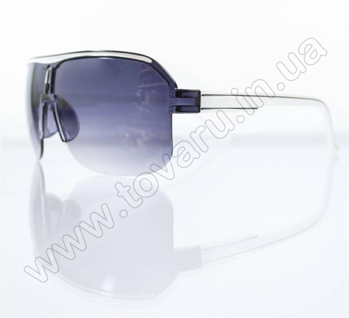 Оптом Очки унисекс солнцезащитные - Черно-белые - B-05