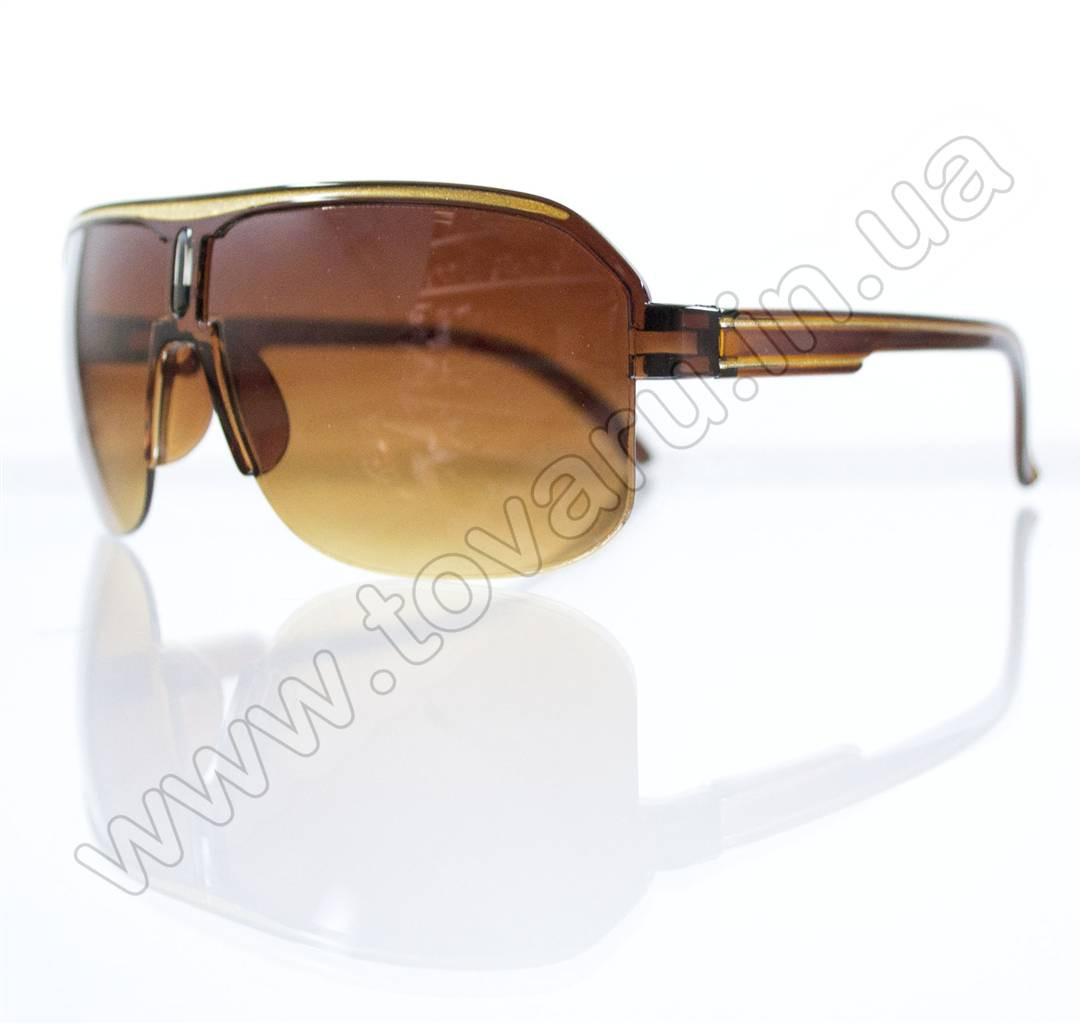 Оптом Очки унисекс солнцезащитные - Коричневые - B-05