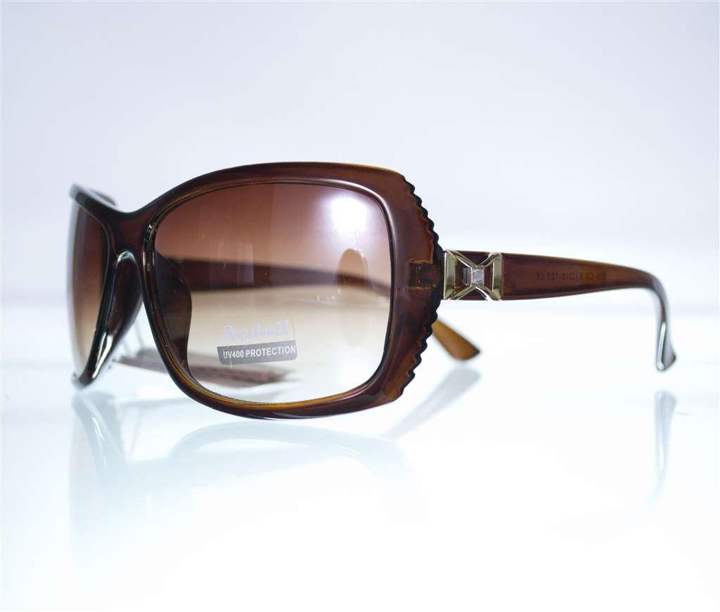 Оптом Очки женские солнцезащитные - Коричневые - 559