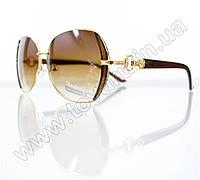 Оптом Очки женские солнцезащитные - Коричневые - S522, фото 1