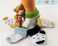 Детские махровые носки для новорожденных Nanhai 302 Z. В упаковке 3 пары