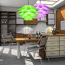7 Цвета 40CM DIY Лотос Люстра Форма Потолок Кулон Светлый абажур Домашний декор - 1TopShop, фото 3