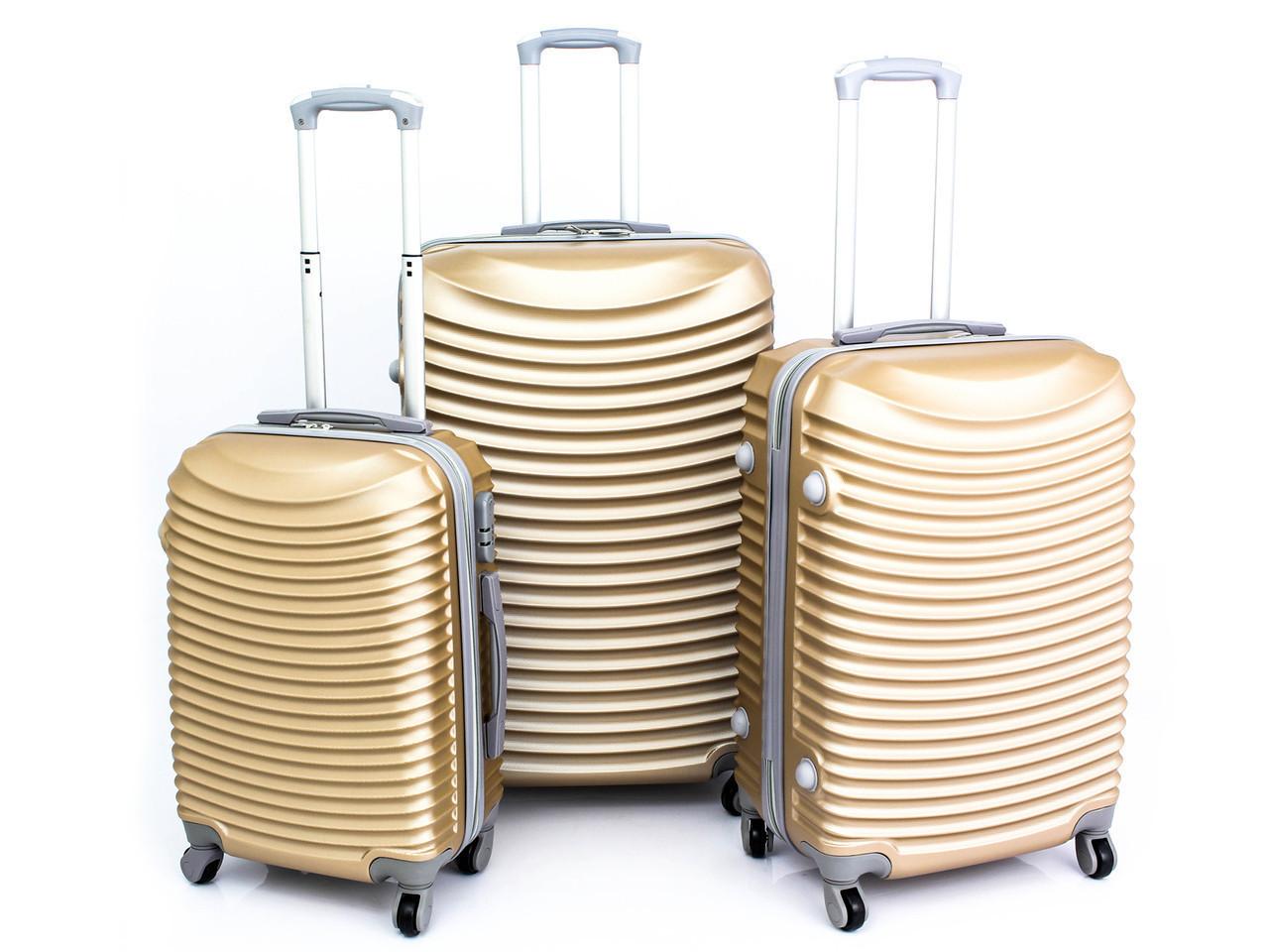 Комплект туристических чемоданов GOLD