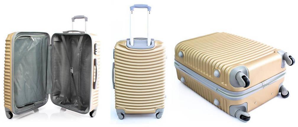 Комплект туристических чемоданов GOLD, фото 2