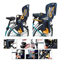 Детский велосипедный стул до 22 кг, фото 2